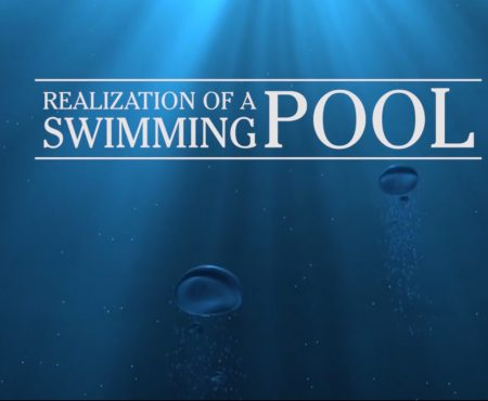 Realization of a swimming pool